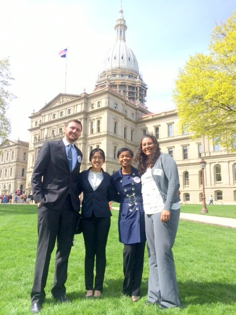 Pediatric Advocacy Day at the Michigan State Capitol