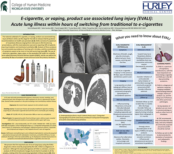 National ACP Competition Winner, Clinical Vignette Poster Category