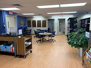 Hamady Medical Library at Hurley Medical Center