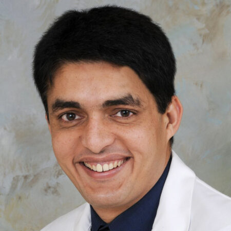 Dr Saqib Ahmad chairs the Hurley Ob-Gyn Department