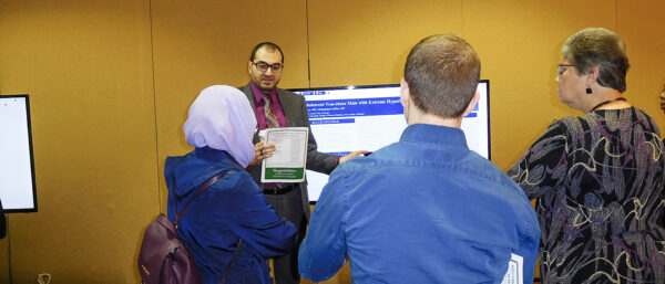 Dr Sarhad Najor at the MSU FAME Community Research Forum May 10 2019 1412x605